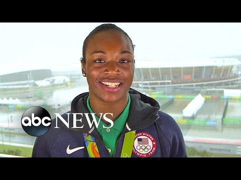 Olympics | US Boxer Claressa Shields Discusses Rio Gold Medal