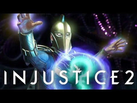 Injustice 2 - Dr Fate Intro Dialogues (Incomplete)