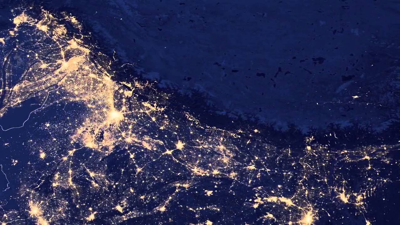 Earth Night Lights Unprecedented Detection From E Video