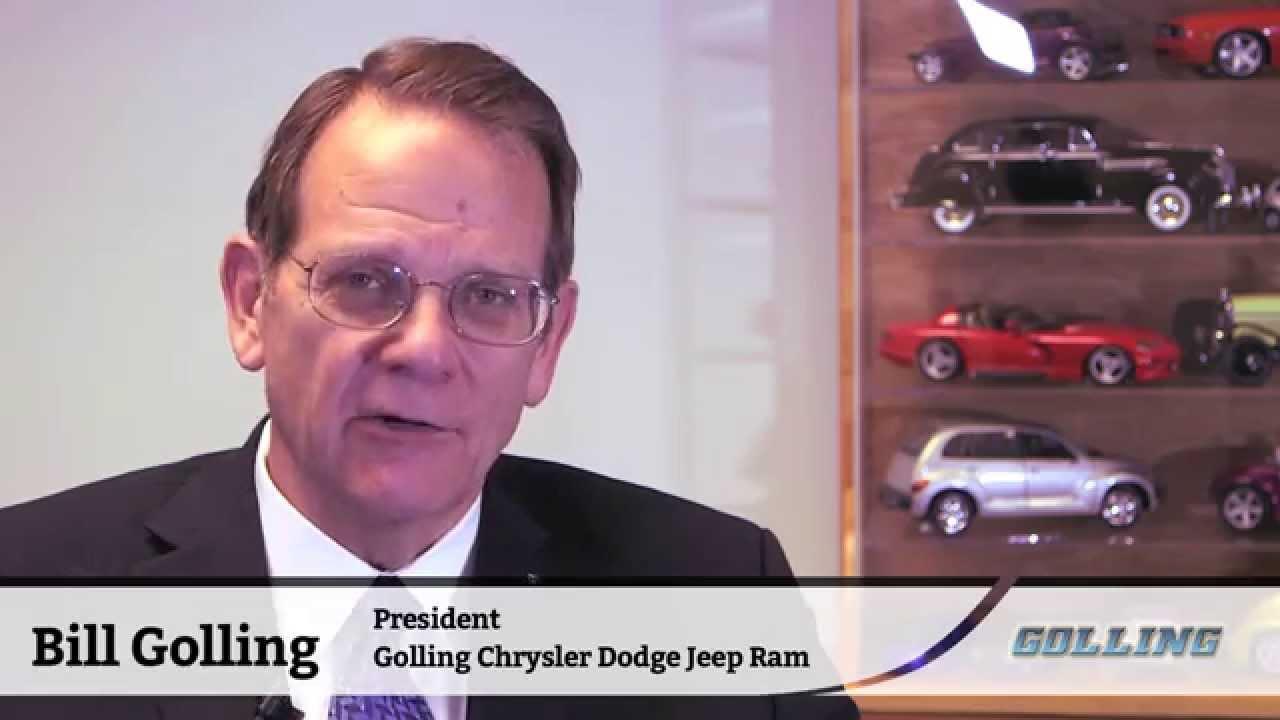 golling chrysler dodge jeep ram of chelsea welcome message youtube. Black Bedroom Furniture Sets. Home Design Ideas