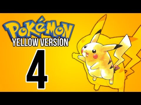 Pokémon Yellow - Episode 4 - Pewter City And Gym Leader Brock!