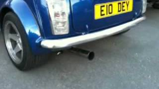classic mini 1275 supercharger (first test)