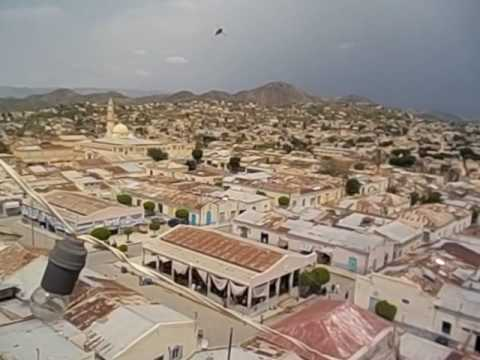 Eritrea  Keren  Views from roof of Keren Hotel  A vista de pájaro desde tejado hotel  2016