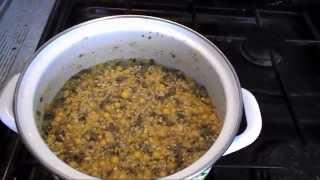 Гороховая прикормка с кукурузной крупой