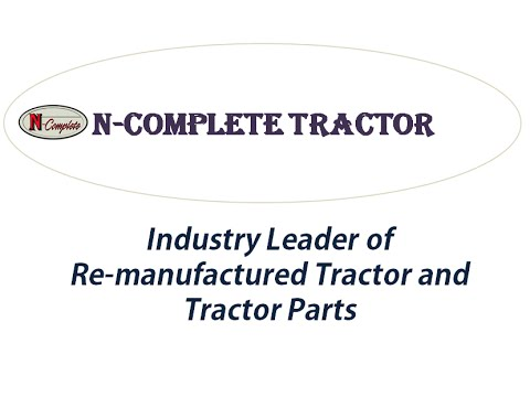 Antique Tractor Parts Online by N Complete Tractor Inc