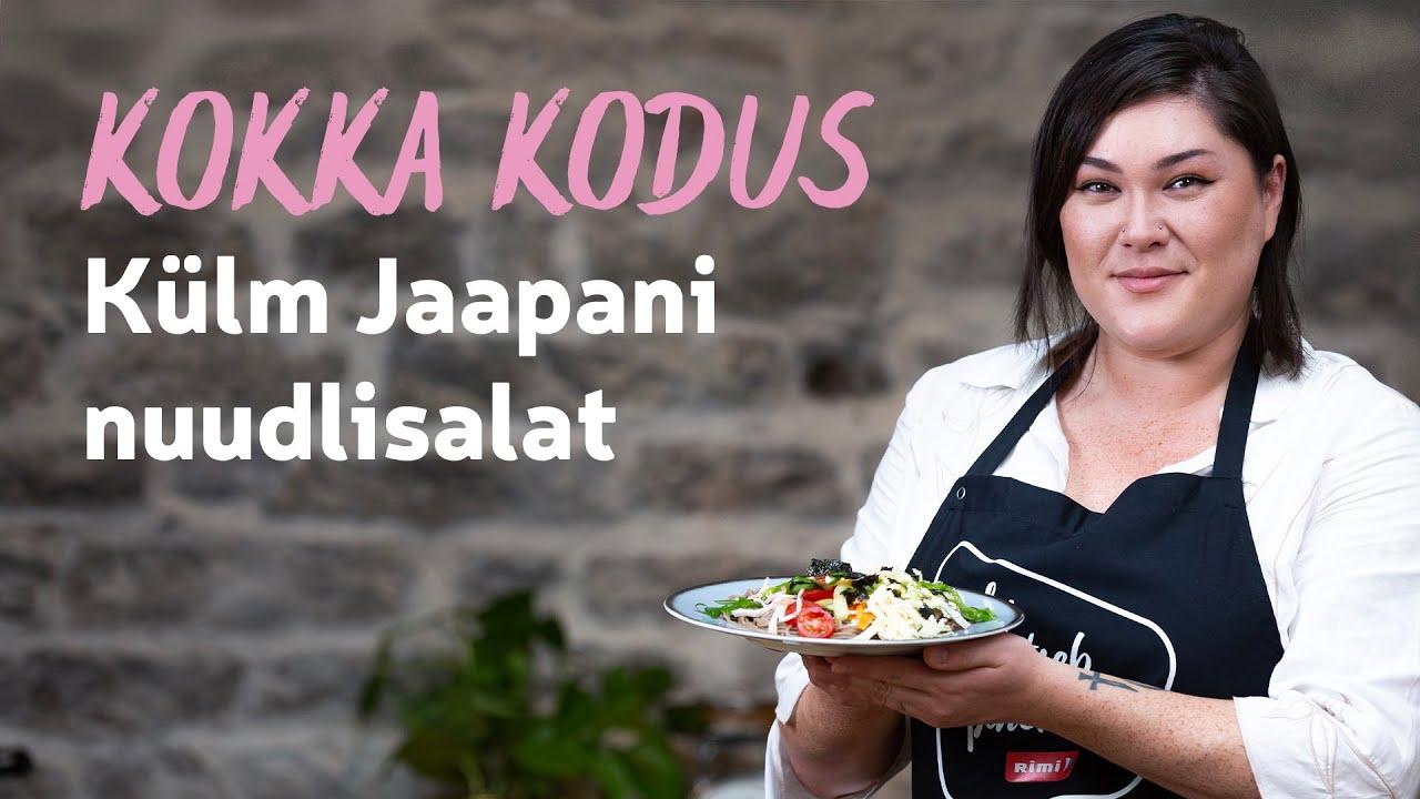 Kokka kodus | Jaapani nuudlisalati retsept