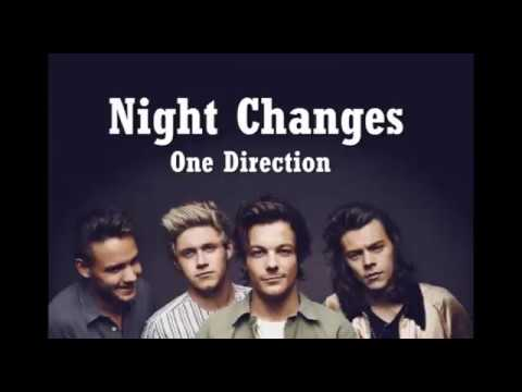 One Direction -  NIGHT CHANGES Video Lyrics Bergambar