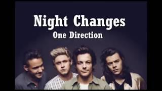 One Direction -  NIGHT CHANGES Video Lyrics Bergambar