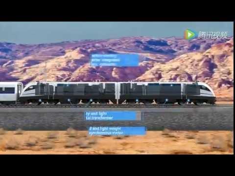 Promo of China CRRC AC-Drive Electric Passengar Locomotive HXD3G