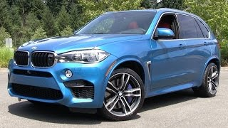 2015 BMW X5 M Start Up, Test Drive, and In Depth Review