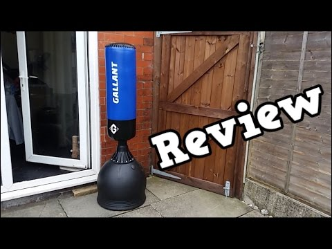 Gallant Black Free Standing Boxing Punch Bag Review