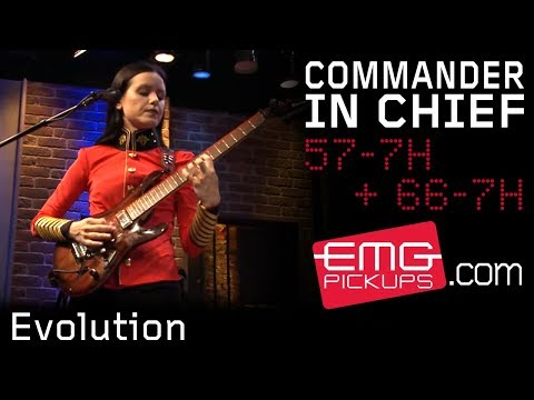 "The Commander In Chief performs ""Evolution"" live on EMGtv"