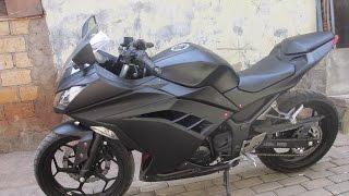 Review Kawasaki Ninja 250cc FI BLACK DOFF 2014 Jakarta thumbnail