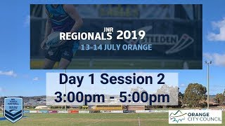 2019 NSW Touch Football JNR Regionals Day 1, Field 1, Session 2