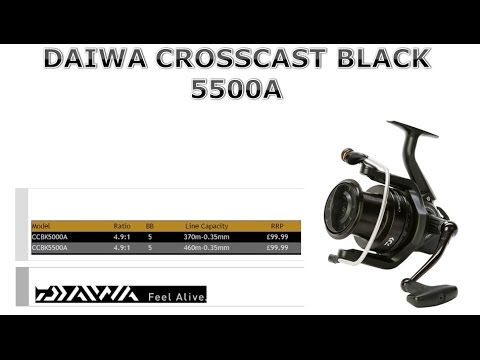 DAIWA CROSSCAST BLACK