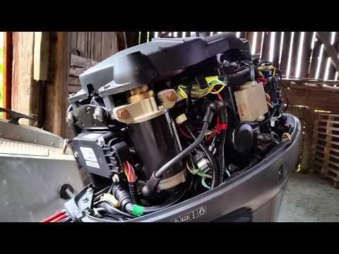 Yamaha F40 Starter Problem Youtube