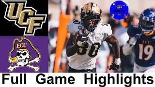 #13 UCF vs East Carolina Highlights | College Football Week 4 | 2020 College Football Highlights