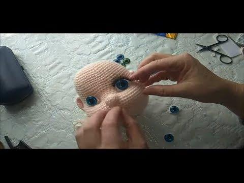 Кукла Анжелика крючком. Мастер класс  Часть 3