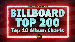 Billboard Top 200 Albums   Top 10   July 20, 2019   ChartExpress
