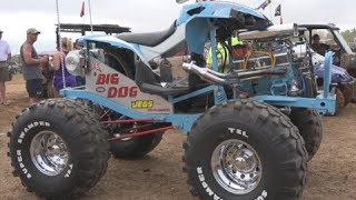 HUGE V8 POWERED ATV ON 38S!!