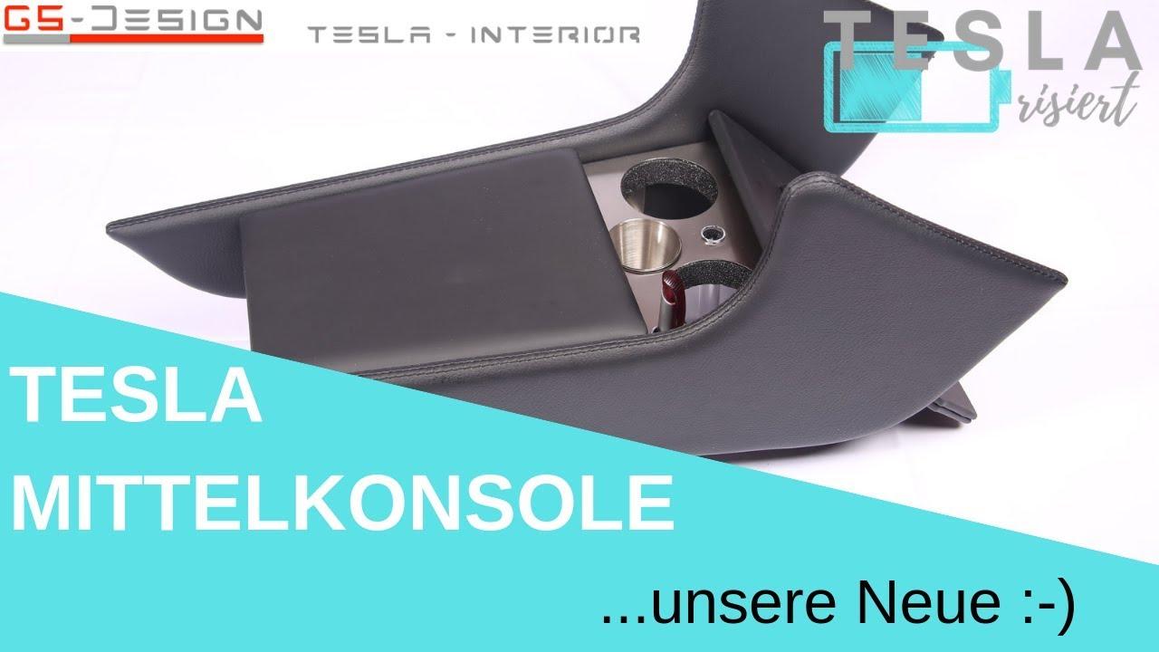 Tesla Model S  Mittelkonsole... die Letzte! :-)