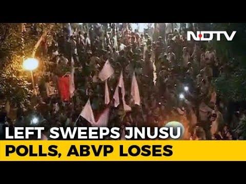 Left Sweeps Jawaharlal Nehru University (JNU) Student Polls