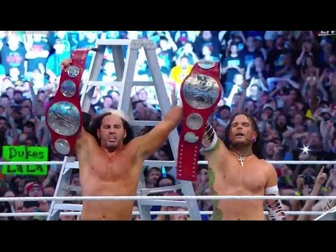 WWE Wrestlemania 33 review  4/2/2017 HARDY BOYS Return ! Undertaker