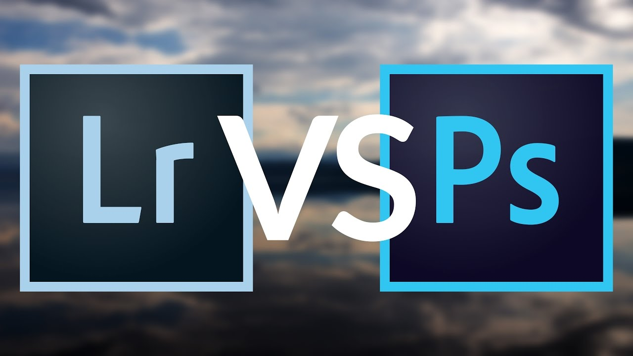 LIGHTROOM VS PHOTOSHOP – Wann verwende ich was?
