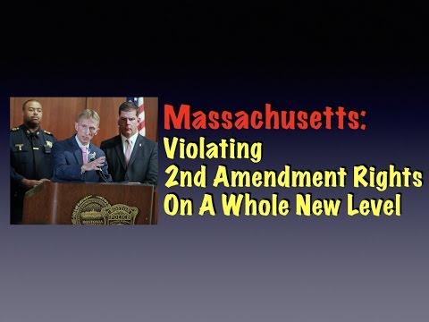 Massachusetts: Violating 2nd Amendment Rights On A Whole New Level
