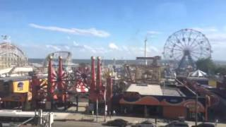 Coney Island from Subway