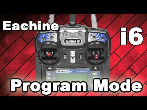 Eachine i6 Transmitter Hack - How to Enter The Program Mode