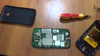 Moto E  Lcd penal Replacement Disassembly//