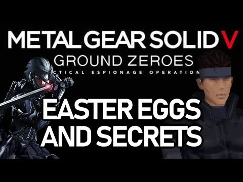 Metal Gear Solid V: Ground Zeroes Easter Eggs And Secrets HD