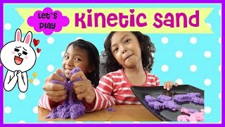 Play Kinetic Sand ♥ Main Pasir Ajaib | Indonesia