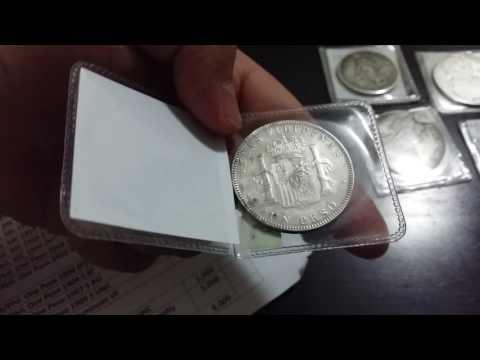 Philippine/Spanish silver coins