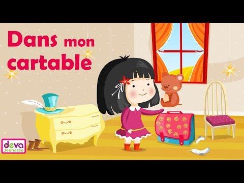 Dans mon cartable (Comptine du petit écolier) ⒹⒺⓋⒶ Chanson Maternelle