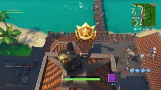 Season 8 Week 1 Secret Battle Star Location (Fortnite Season 8 Secret Challenges)