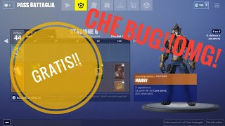 BUG ON FORTNITE,ALL THE BATTLE PASS-(NO CLICBAIT!!)