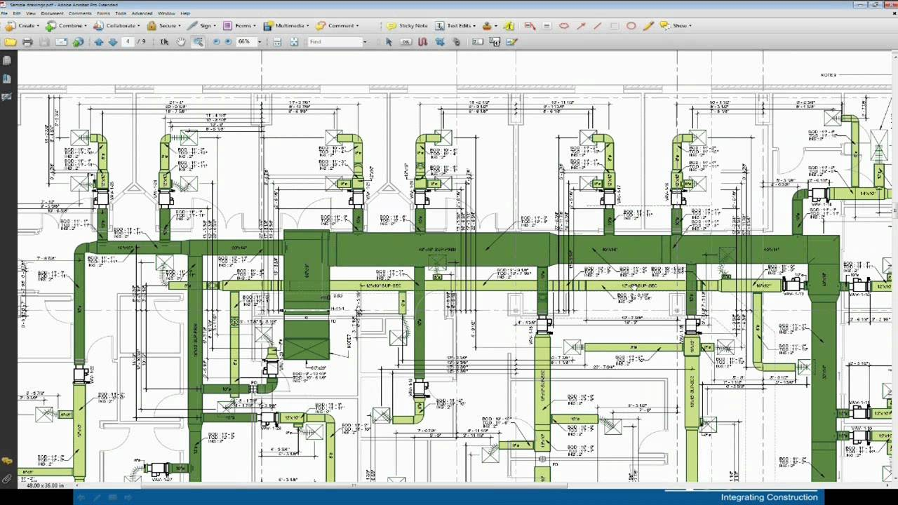 hvac installation drawing [ 1280 x 720 Pixel ]