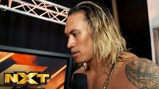 Kona Reeves regrets nothing after pushing Keith Lee to the limit: NXT Exclusive, Oct. 10, 2018