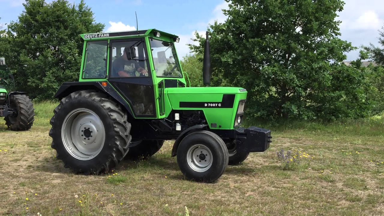 Traktor deutz fahr d c youtube