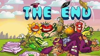Мультик игра для детей про зомби - Растения против Зомби .Заключительная