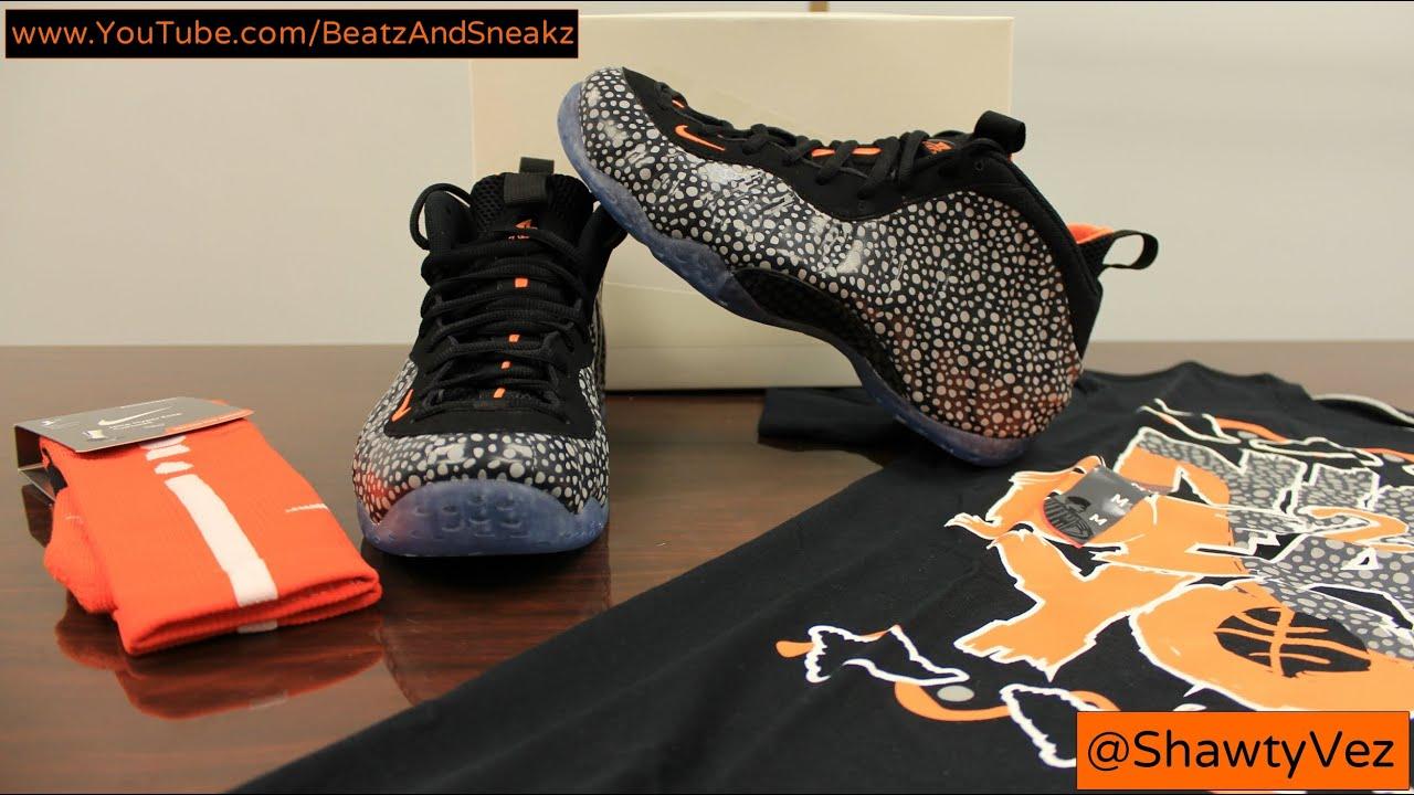122acedd5c6 Nike Foamposite One Safari Review - YouTube