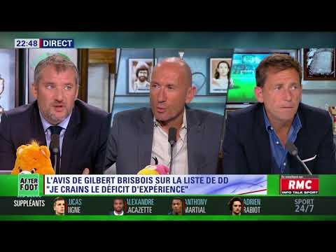 After Foot du jeudi 17/05 – Partie 3/6 - L'avis de Gilbert Brisbois sur la liste de Didier Deschamps