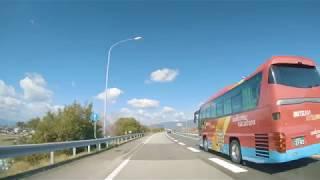 4K GoPro 車載動画 徳島自動車道 藍住IC~池田IC