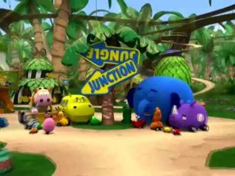 Jungle Junction   Theme Song  Disney Junior