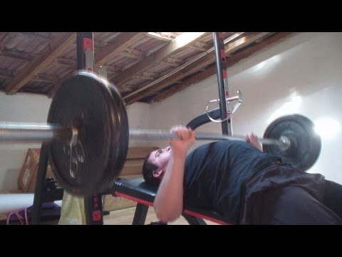 Bench press - 100kg attempt
