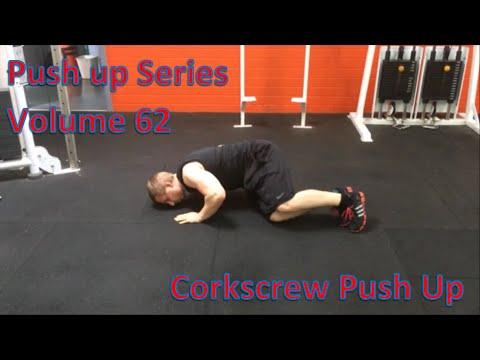 Corkscrew pushup - YouTube