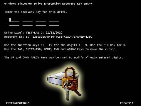 Cracking Bitlocker
