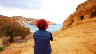 Matala And The Hippie Caves